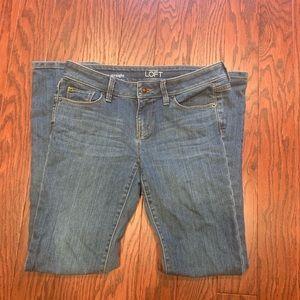 LOFT Modern Straight Jeans SZ 2P
